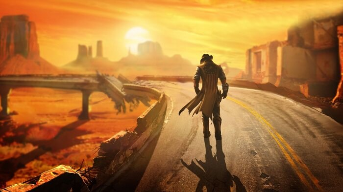 The Lonesome Road DLC Cover Art