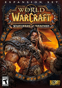 The Warlords of Draenor cover.