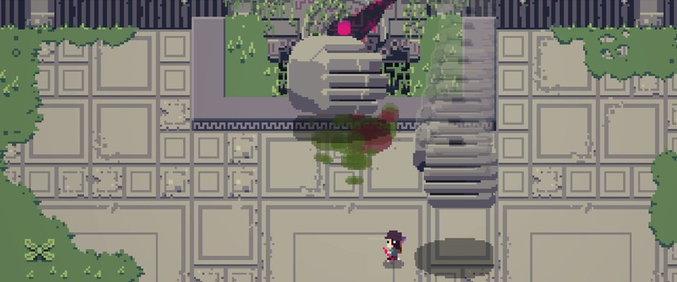 Titan Souls Boss Battle