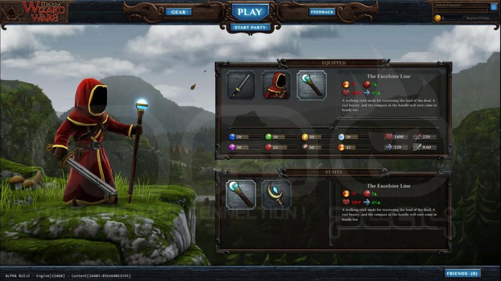 magicka Wizard Wars gameplay