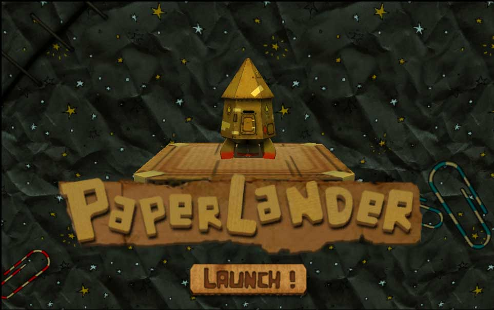 Indie Game PaperLander