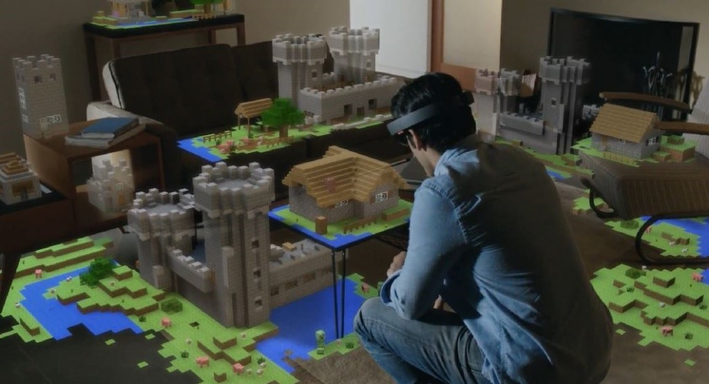 Augmented Reality Games - Minecraft HoloLens