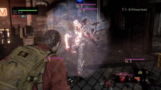 Resident Evil Revelations 2 Raid Mode Walkthrough Different types of enemies
