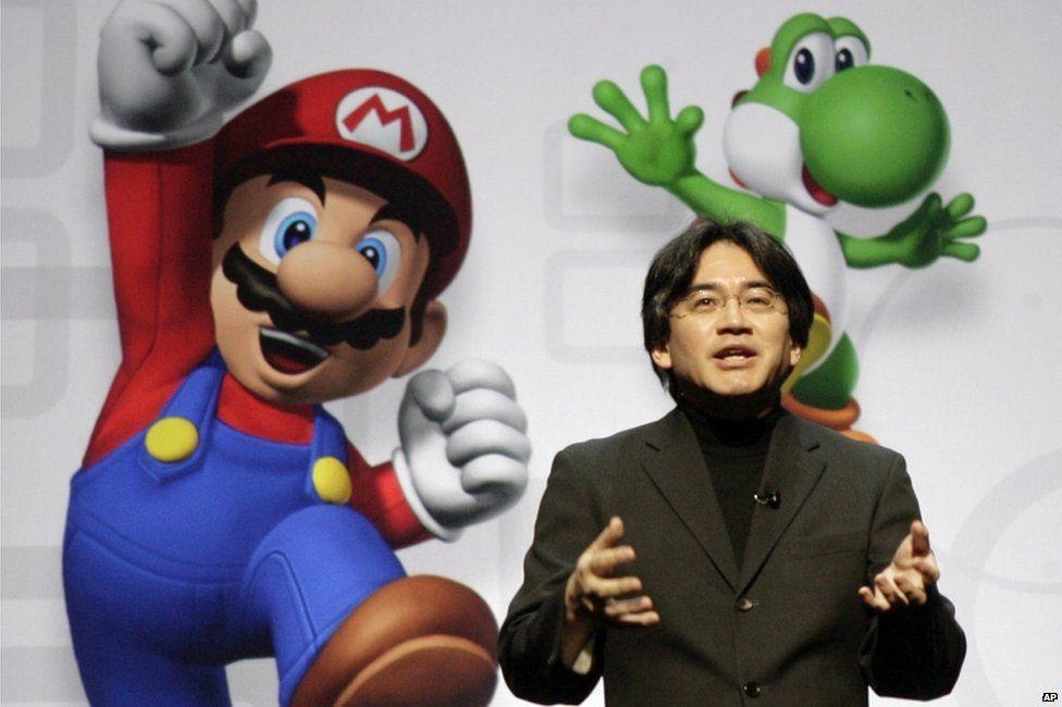 Satoru Iwata - CEO of Nintendo