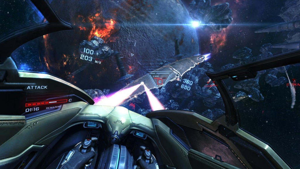 Virtual Reality Games - EVE Valkyrie