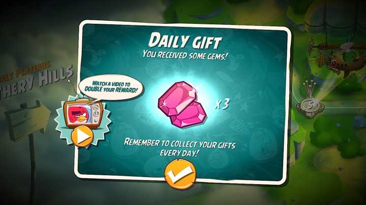 Angry Birds 2 Game Guide - Daily Rewards