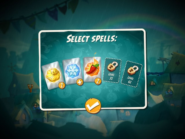 Angry Birds 2 Game Guide Features five spells