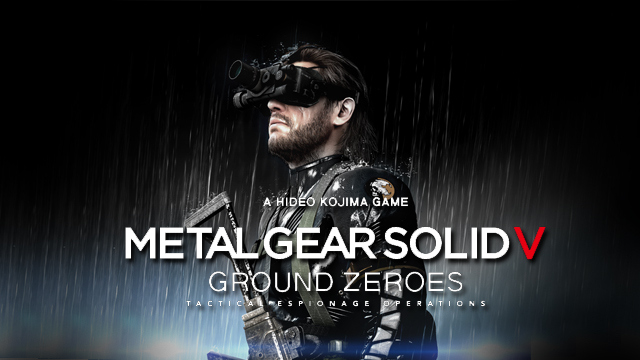 Xbox Games With Gold August 2015 - Metal Gear Solid V Ground Zero