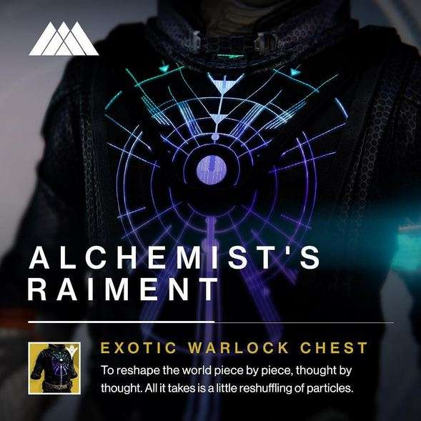 New Destiny Exotics - Alchemist's Raiment