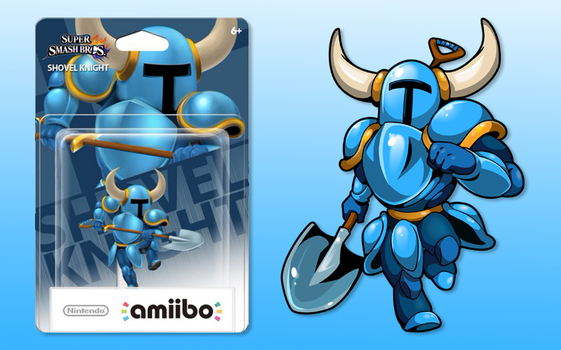 The Shovel Knight Amiibo