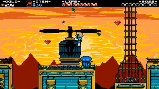 Shovel Knight developed by Yacht Club Games