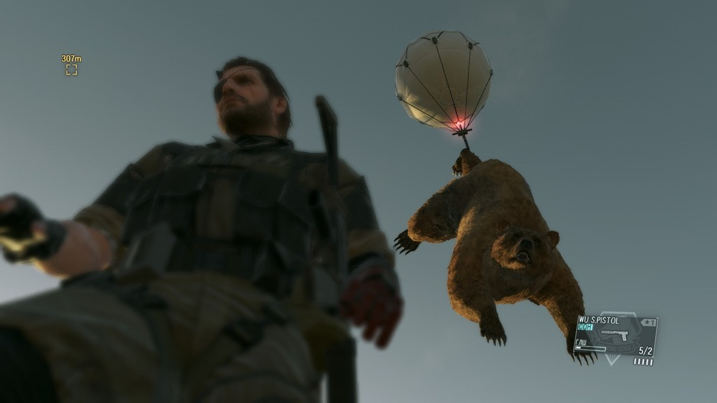 Metal Gear Solid 5 The Phantom Pain Allows Taming of Animals