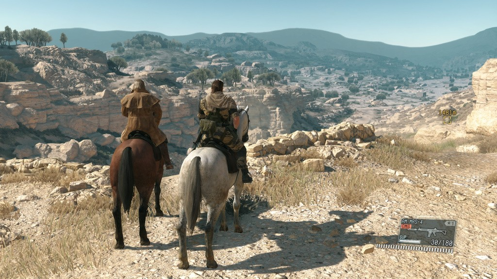 Metal Gear Solid 5 The Phantom Pain introduces the Buddy system