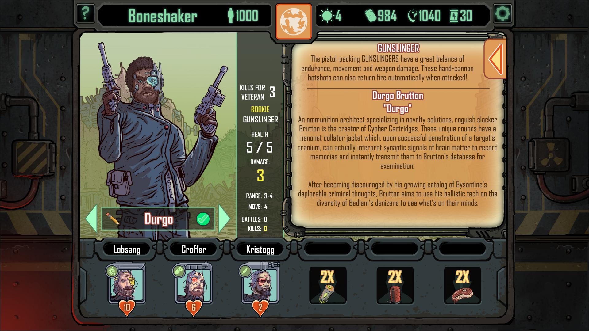 Skyshine's Bedlam Durgo Brutton Bio