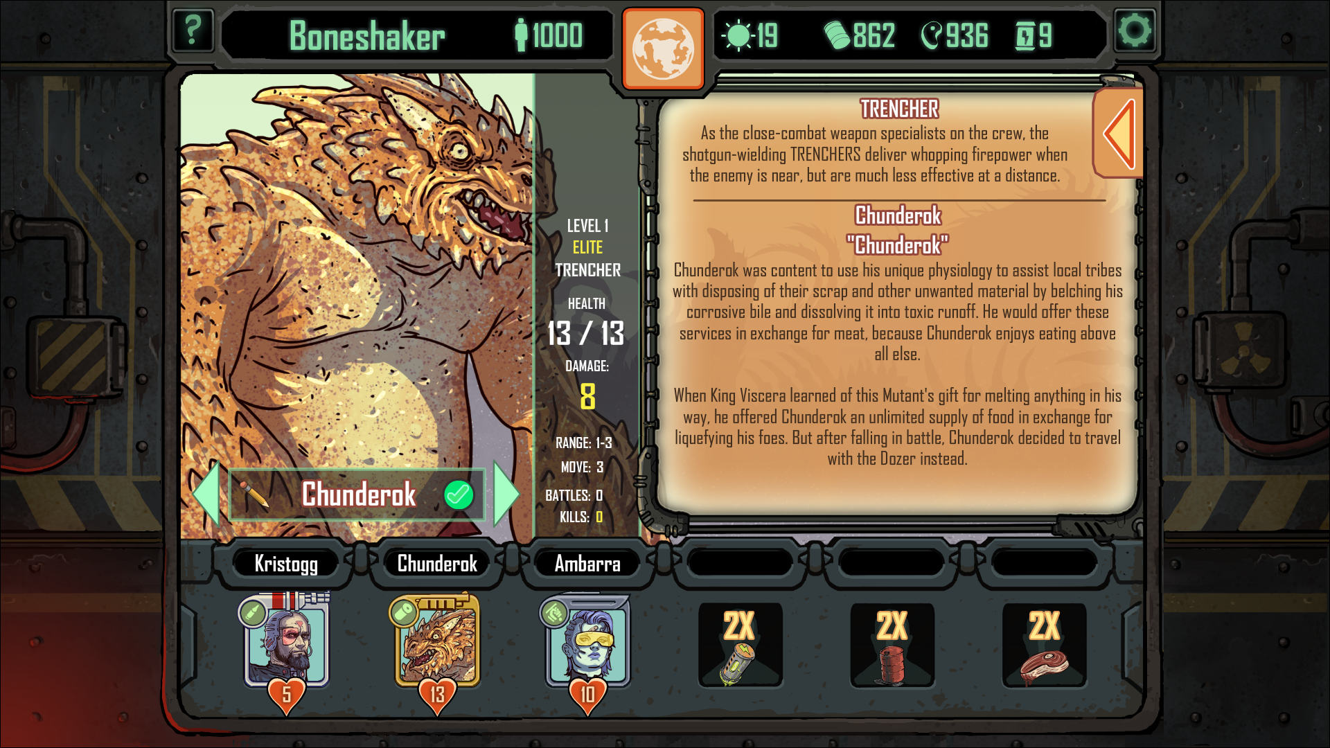 Skyshine's Bedlam Elite Chunderok