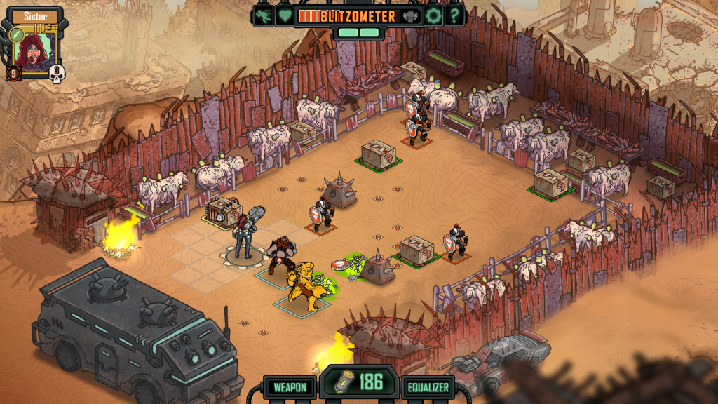 Fight accompanied by Elites in Skyshine's Bedlam