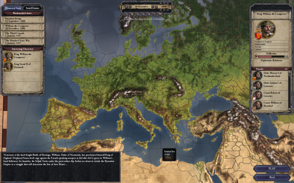 Crusader Kings 2 is a Grand Strategy Game