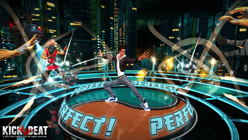 KickBeat is a music-infused rhythm game on the List of PlayStation Plus Free Games for October 2015