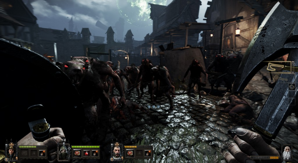 Warhammer End of Times Vermintide is a co-op survival game.