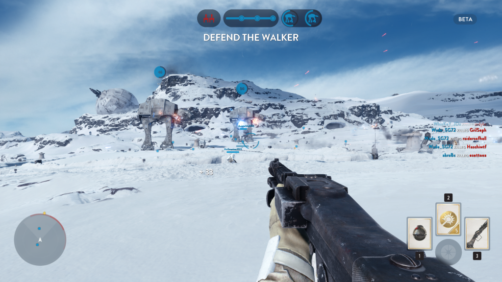 The Star Wars Battlefront Beta was a fantastic experience