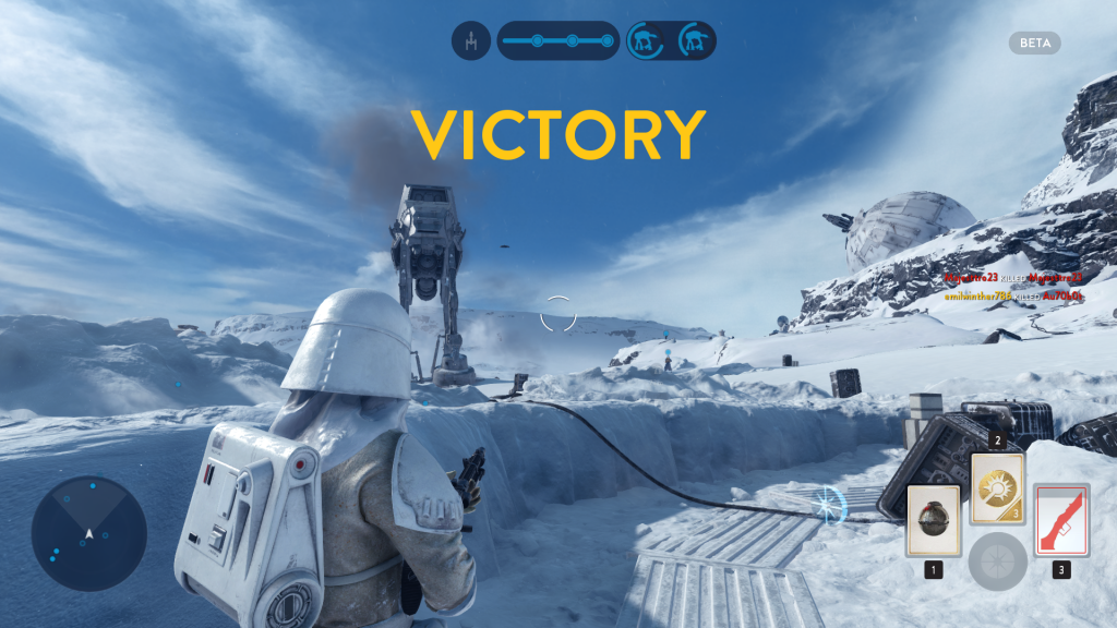 Imperial Forces in the Star Wars Battlefront Beta are overpowered