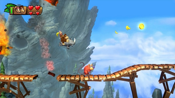 Donkey Kong Tropical Freeze for the Wii U