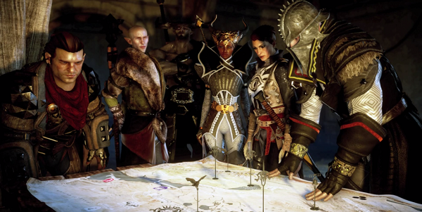Dragon Age Inquisition Party Members.