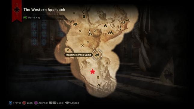 Dragon Age Inquisition Strategy Guide - The Abyssal High Dragon Location