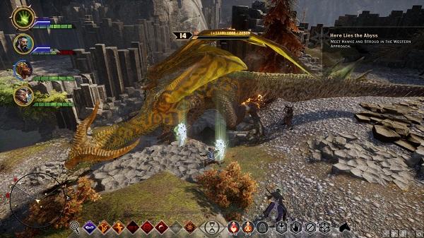 Dragon Age Inquisition Strategy Guide - The Fereldan Frostback Dragon Fight