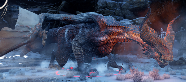 Dragon Age Inquisition Strategy Guide - The Highland Ravager Dragon Fight.
