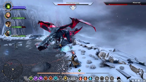 Dragon Age Inquisition Strategy Guide - The Hivernal Dragon Fight.