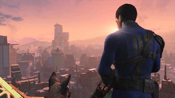 Fallout 4 - Boston in ruins