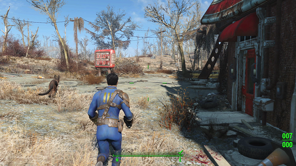 Scavenging is most important in Fallout 4.