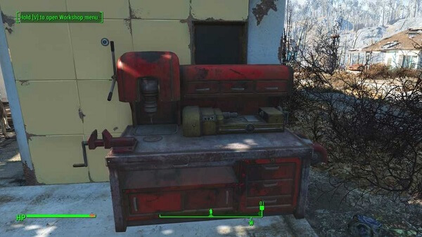 Fallout 4 Tips and Tricks #4 - Workbench is your home away from home