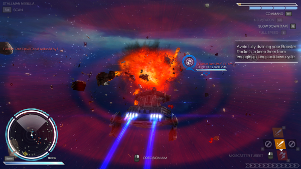 Rebel Galaxy Space Battle