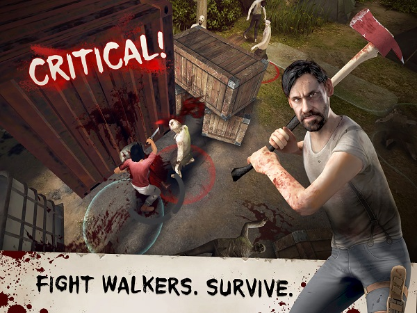 The Walking Dead No Man's Land - Walkers can be hidden anywhere