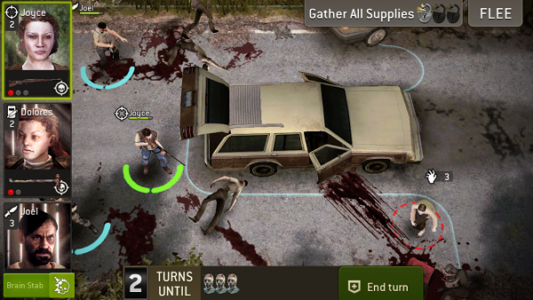 The Walking Dead No Man's Land - don't forget to use charge abilities