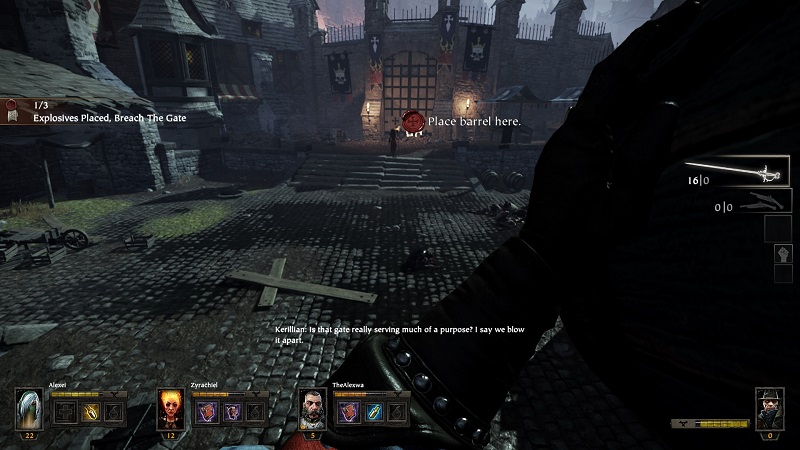 Warhammer End Times Vermintide Barrel Objective