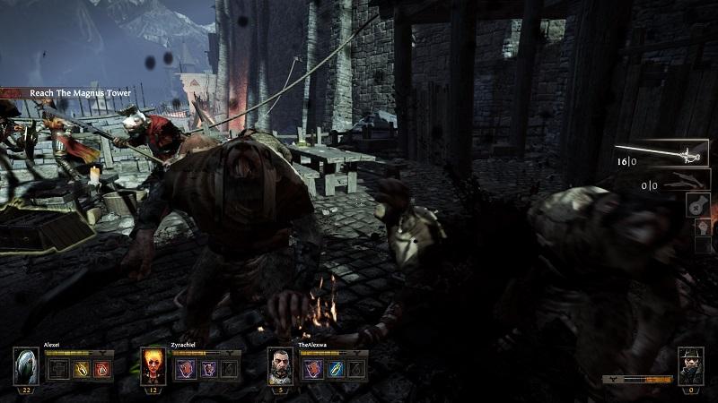 Warhammer End Times Vermintide Rat Battle