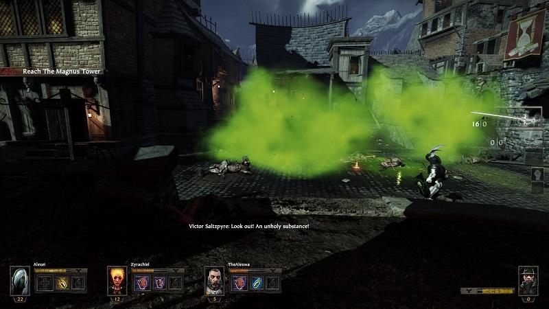 Warhammer End Times Vermintide Rat Boss Battle