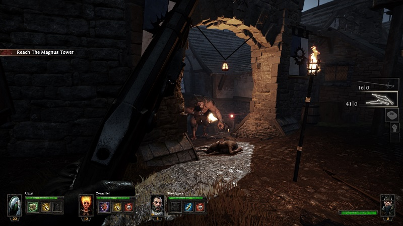 Warhammer End Times Vermintide Rat Ogre encounter