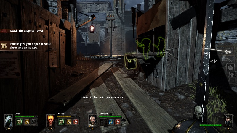 Warhammer End Times Vermintide is a L4D replica