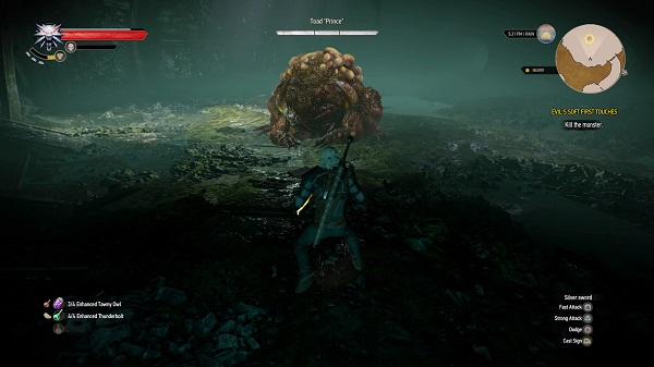 Witcher 3 Hearts of Stone Toad Prince Guide - Boss Battle.