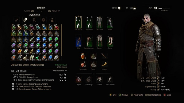 Witcher 3 Hearts of Stone Toad Prince Guide - Items