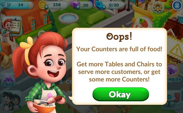Bakery Story 2 Cheats, Tips and Tricks - Your Counter is Full