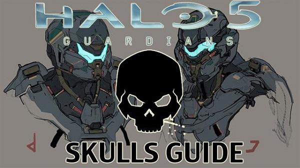 Halo 5 Guardians Skull Locations