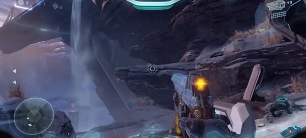 Halo 5 Skull Locations - Mission 1 IWHBYD Skull