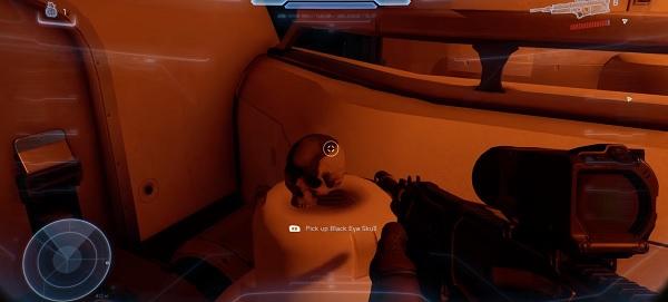 Halo 5 Skull Locations - Mission 2 Black Eye Skull