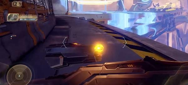 Halo 5 Skull Locations - Mission 6 Thunderstorm Skull