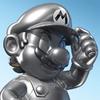 Mario Kart 8 Characters - Metal Mario